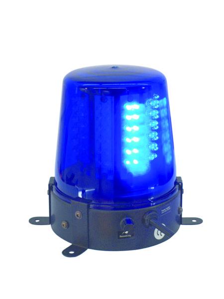 EUROLITE LED police light 108 LED-uri albastru