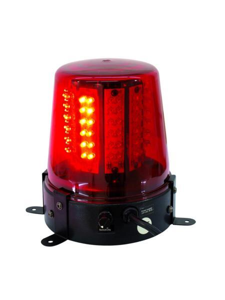 EUROLITE LED police light 108 LED-uri rosu