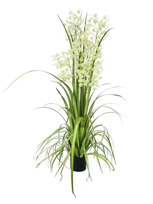 EUROPALMS Orhidee pitice, galben pal, 140cm