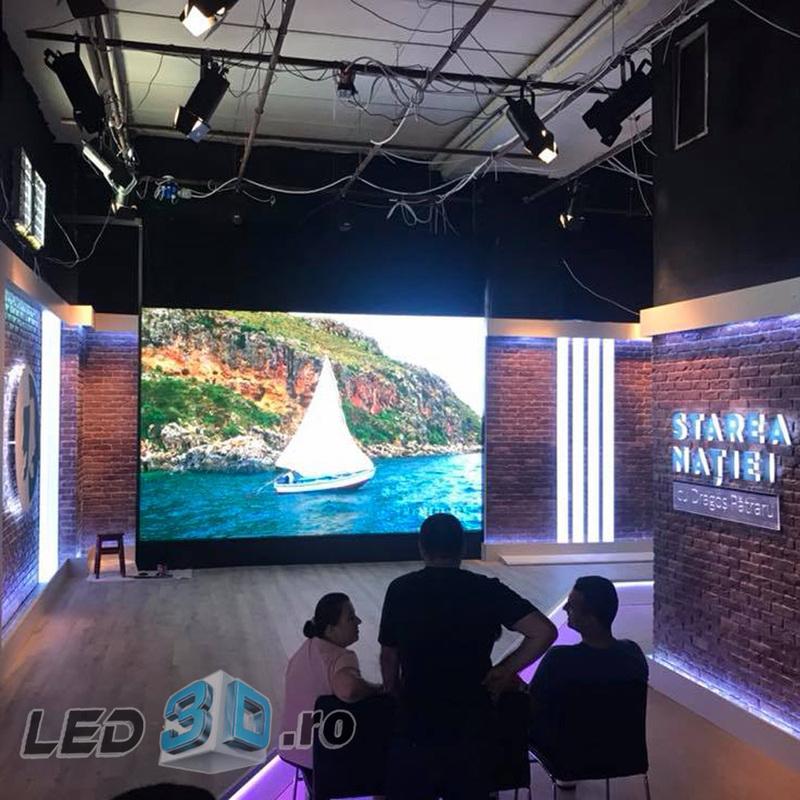 """Ecranul cu LED P3.91 la """"Starea Natiei"""""""
