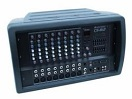OMNITRONIC CS-812 Mixer cu amplificator