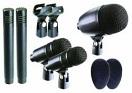 OMNITRONIC DSM-500 Set de microfoane pentru tobe