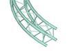 ALUTRUSS DECOLOCK DQ-4 element pentru cerc cu d=4m, 90 grade