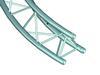 ALUTRUSS TRILOCK E-GL33 parti de cerc de 3m, 90 grade <