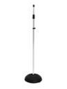 OMNITRONIC Suport pentru microfon 85-157cm, argintiu