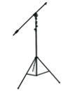 OMNITRONIC Trepied pentru microfon cu prindere deasupra, negru