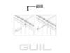 GUIL TMU-01/440 Profil de conectare elemente de scenă