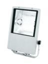 EUROLITE Spot de exterior 150W WFL, argintiu, tip S