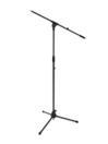 OMNITRONIC MS-2 Stativ pentru microfon, cu braț, negru