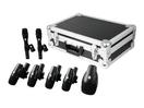 OMNITRONIC DSM-1000 Set de microfoane pentru instrumente