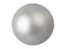 EUROPALMS Glob decorativ, 3,5cm, argintiu, metalic (48 buc)