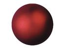 EUROPALMS Glob decorativ, 6cm, roșu, metalic (6 buc)