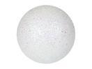 EUROPALMS Glob decorativ, 6cm, alb, sclipitor (6 buc)