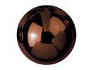 EUROPALMS Glob decorativ, 3,5cm, maro, lucios (48 buc)