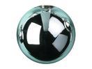 EUROPALMS Glob decorativ, 6cm, albastru deschis, lucios (6 buc)