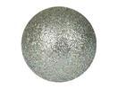 EUROPALMS Glob decorativ, 6cm, argintiu, sclipitor (6 buc)