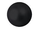 EUROPALMS Glob decorativ, 6cm, negru, metalic (6 buc)