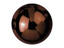 EUROPALMS Glob decorativ, 6cm, maro, lucios (6 buc)