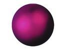 EUROPALMS Glob decorativ, 6cm, violet, metalic (6 buc)