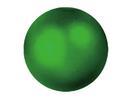 EUROPALMS Glob decorativ, 6cm, verde, metalic (6 buc)
