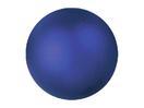 EUROPALMS Glob decorativ, 6cm, albastru, metalic (6 buc)