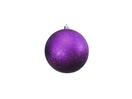 EUROPALMS Glob decorativ, 10cm, violet, sclipitor