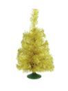 EUROPALMS Pom de Crăciun pentru masă, auriu, 45cm