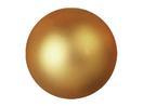 EUROPALMS Glob decorativ, 3,5cm, auriu, metalic (48 buc)