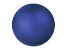 EUROPALMS Glob decorativ, 3,5cm, albastru, metalic (48 buc)