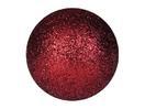 EUROPALMS Glob decorativ, 6cm, roșu, sclipitor (6 buc)