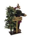EUROPALMS Elan de Crăciun, cu brad, 100cm