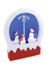 EUROPALMS Scenă de Crăciun cu ninsoare