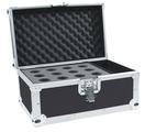 OMNITRONIC Road Case pentru 12 microfoane, negru
