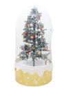 EUROPALMS Brad de crăciun ce ninge,cu husă protectoare
