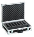 OMNITRONIC Road Case pentru 7 microfoane, negru
