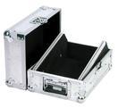 OMNITRONIC Road MCR-10 Case înclinat pentru mixer, argintiu
