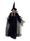 EUROPALMS Personaj de Halloween, vrajitoare animată