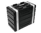 OMNITRONIC Rack din plastic KR-19, 6U, DD, negru