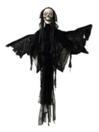 EUROPALMS Personaj de Halloween, ingerul morții, animat