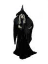 EUROPALMS Personaj de  Halloween, Vrajitoare scheletică, 160cm