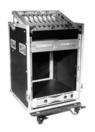 OMNITRONIC Case special Combo Pro, 12 U cu roți