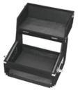 OMNITRONIC Case pentru Mixer/CD player, 4U, mochetat, negru
