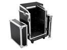 OMNITRONIC Case special Combo LS5 cu pupitru pentru laptop,14 U