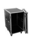OMNITRONIC Rack pentru amplificator PR-2ST, 14U, 55cm adancime, cu roți