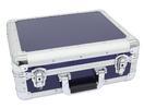 OMNITRONIC Case din aluminiu pentru CD, rotunjit, albastru