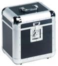 OMNITRONIC ALU 75/25 Case negru pentru discuri LP, rotunjit