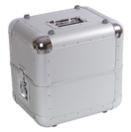 OMNITRONIC ALU 50/50 Case argintiu pentru discuri LP