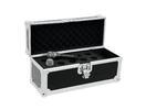 OMNITRONIC Case pentru 10 microfoane, negru