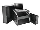 OMNITRONIC Special combo case BLHD cu suport pentru laptop, 17 U, cu roți
