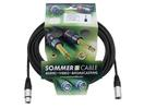 SOMMER CABL SG01-1500-SW Cablu cu XLR mamă la tată, 15m